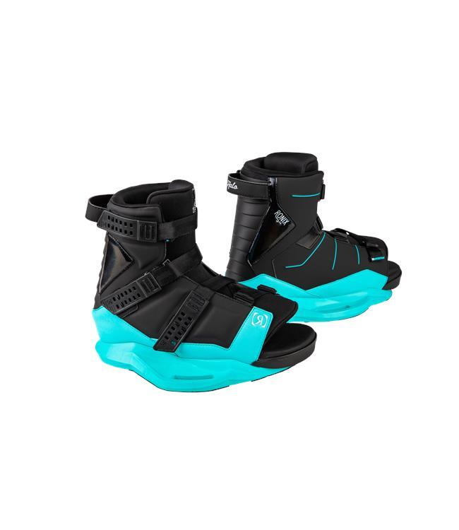 Ronix Quarter Til Midnight Wakeboard with Halo Boots (2020)