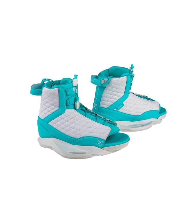 Ronix Quarter Til Midnight Wakeboard with Luxe Boots (2021)