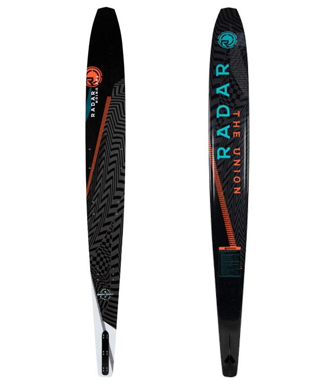 Radar Union Slalom Ski with Vector Boot & RTP (2021) - Waterskiers World