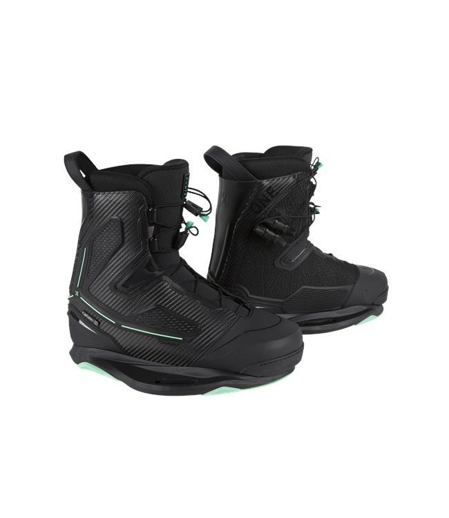 Ronix One Blackout Wakeboard Package with One Carbitex Boots (2021)