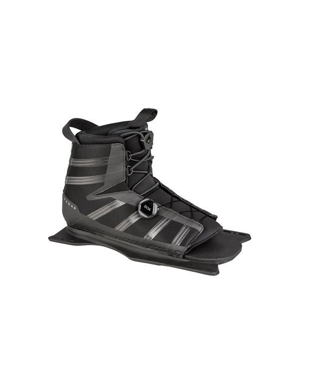 Radar Senate Graphite Slalom Ski with Vector BOA Boot & BOA RTP (2021) - Waterskiers World