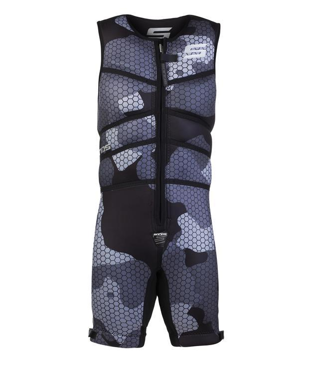 Sands Titan Barefoot Suit (2021)  - Silver - Waterskiers World