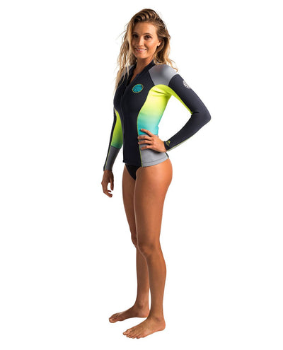 Ripcurl Womens Dawn Patrol Long Sleeve Heater Top (2017) - Waterskiers World