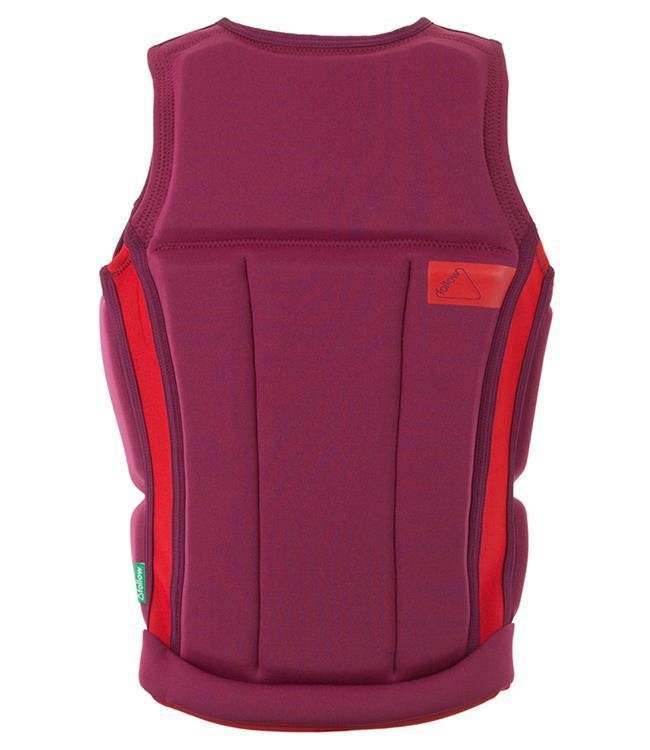 Follow Surf Edition Womens Life Vest (2021) - Eggplant - Waterskiers World