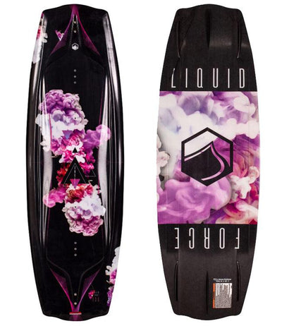 Liquid Force Angel Wakeboard Package with Plush Boots (2021) - Waterskiers World