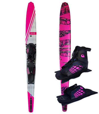 Fluid Arcadia Slalom Ski with Genesis Boot & RTP (2019)