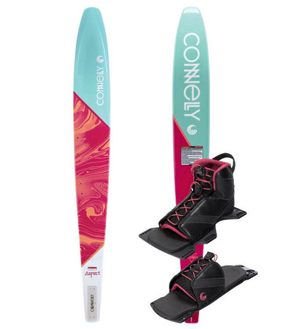 Connelly Aspect Womens Slalom Ski with Shadow Boot & RTP (2021) - Waterskiers World