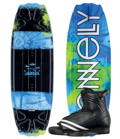 Connelly Charger Boys Wakeboard Package with Optima Boots (2020)