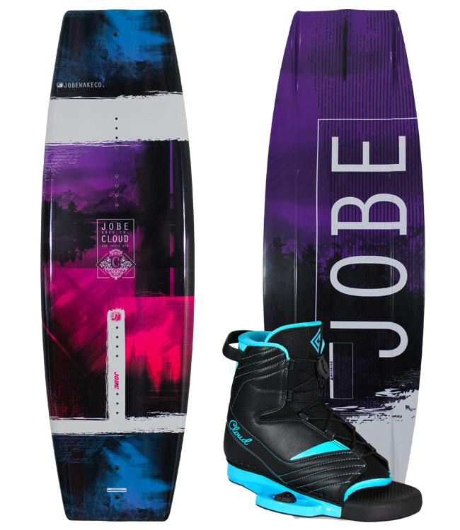Jobe Cloud Womens Wakeboard With Cloud Boots (2020) + FREE COVER