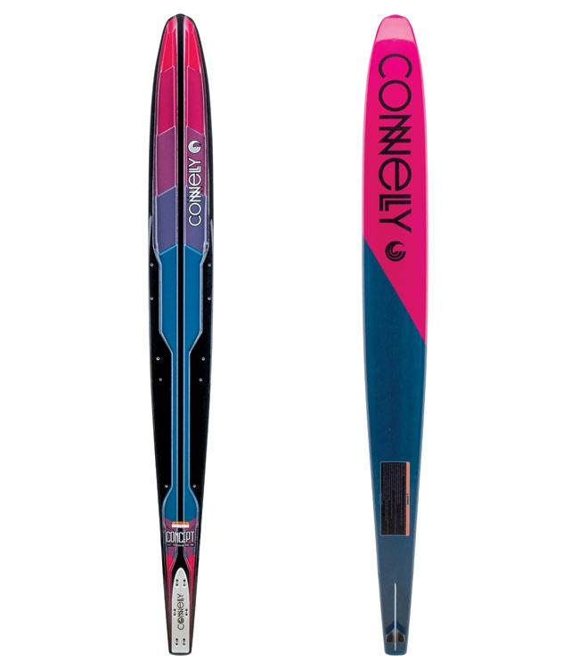 Connelly Concept Womens Slalom Ski with Shadow Boot & RTP (2021)
