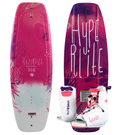 Hyperlite Divine Wakeboard Package with Allure Boots (2019)