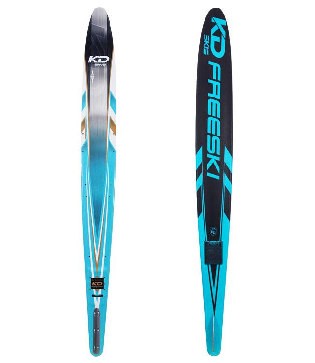 KD Junior Envy Slalom Ski With Axcess Boot & RTP (2020)