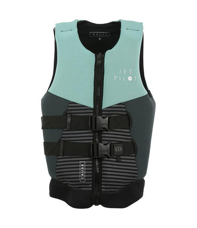 Jetpilot The Cause Womens Life Vest (2021) - Teal - Waterskiers World
