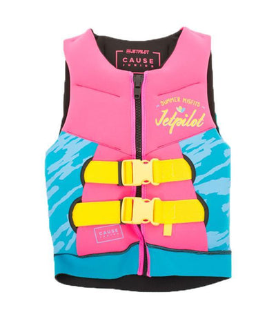 Jetpilot The Cause Girls Life Vest (2020) - Pink