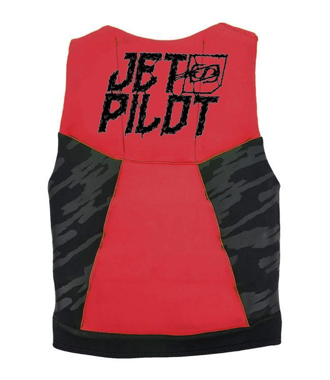 Jetpilot The Cause Boys L50 Life Vest (2021) - Red/Black