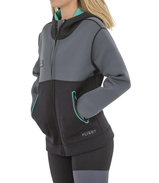 Jetpilot Allure Womens Tour Coat (2020) - Teal