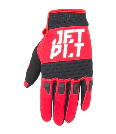 Jetpilot RX Race Jetski Gloves (2022) - Black/Red - Waterskiers World