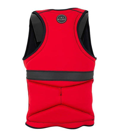Jetpilot Midnight Womens L50 Life Vest (2021) - Red - Waterskiers World