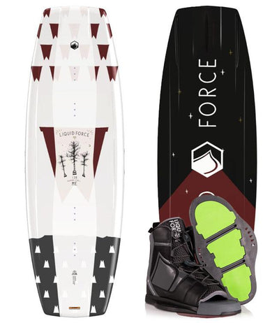 Liquid Force M.E. Wakeboard Package with Index Boot (2020)