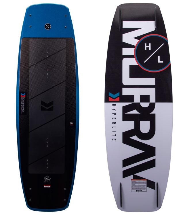 Hyperlite Murray Wakeboard Package with Formula Boots (2021)