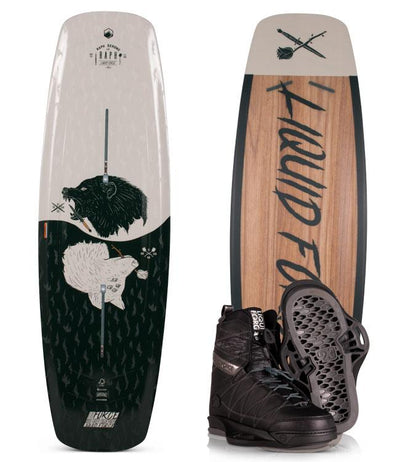 Liquid Force Raph Wakeboard Package with Classic Boots (2020) - Waterskiers World