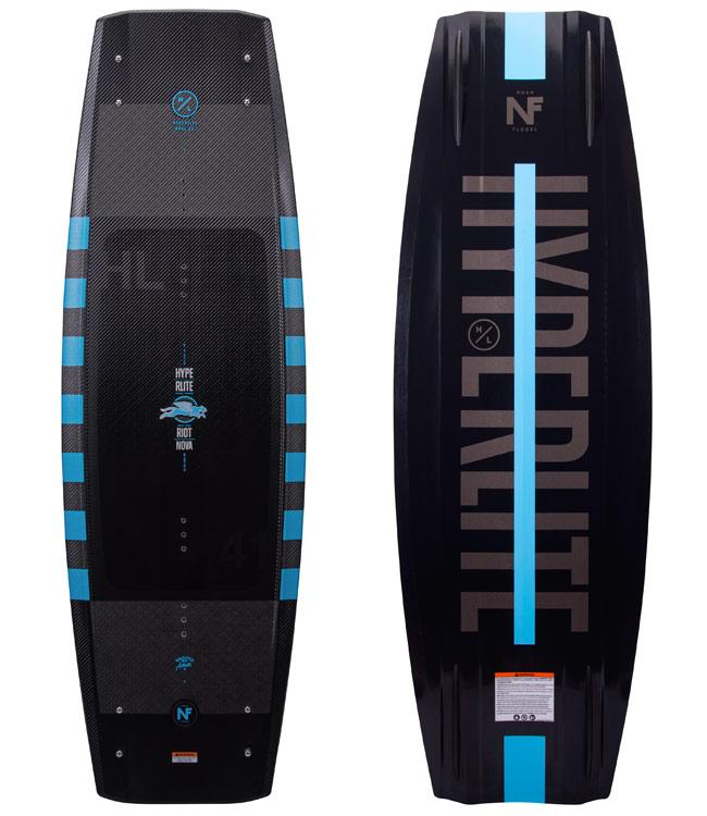 Hyperlite Riot Nova Wakeboard Package with Riot Boots (2021)