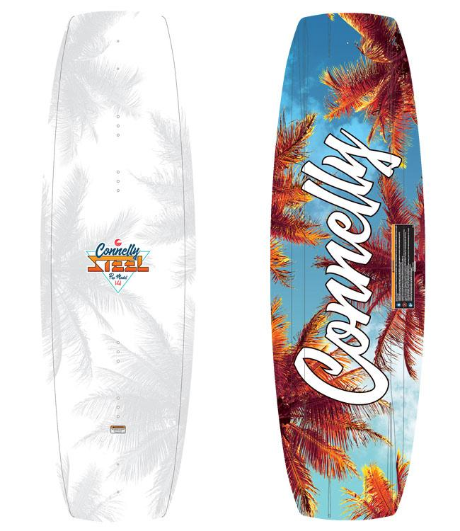 Connelly Steel Wakeboard Package with Empire Boots (2021)