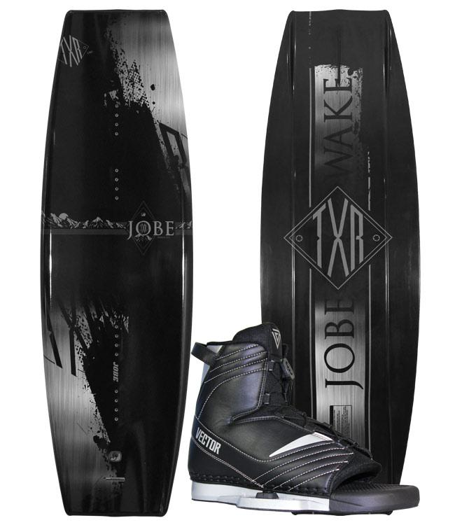 Jobe TXR Mens Wakeboard With Vector Boots (2020) + FREE COVER