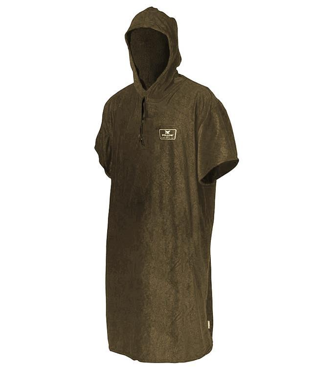 Follow Hoodie Towel (2020) - Brown