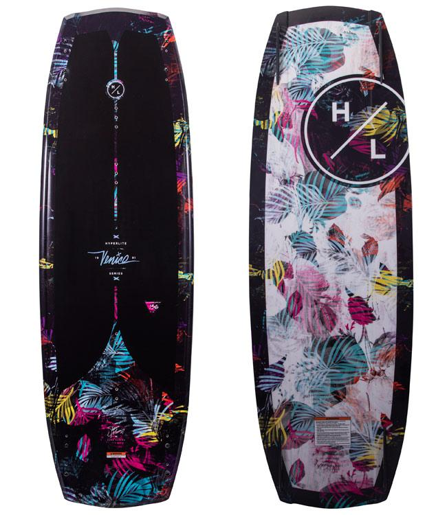 Hyperlite Venice Wakeboard Package with Viva Boots (2021)