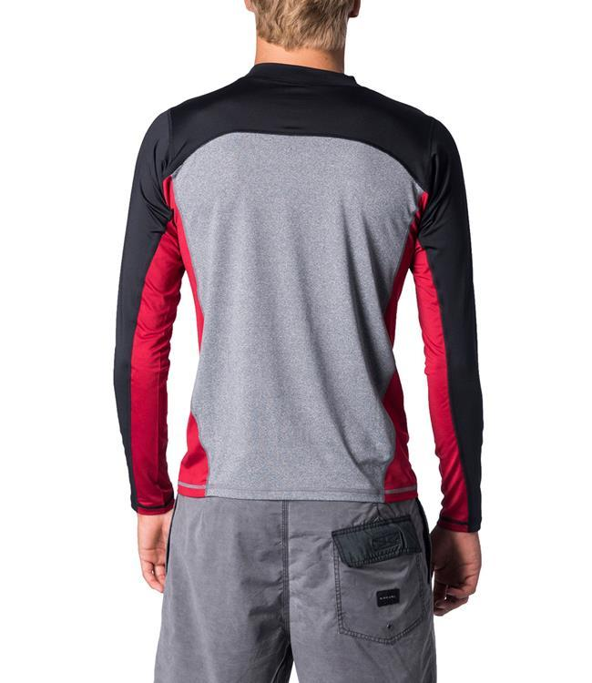 Ripcurl Underline Relaxed Long Sleeve UV Tee (2020) - Red