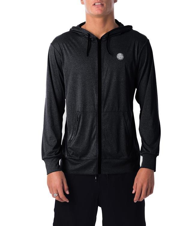 Ripcurl Search Surflite Hoodie (2020) - Black