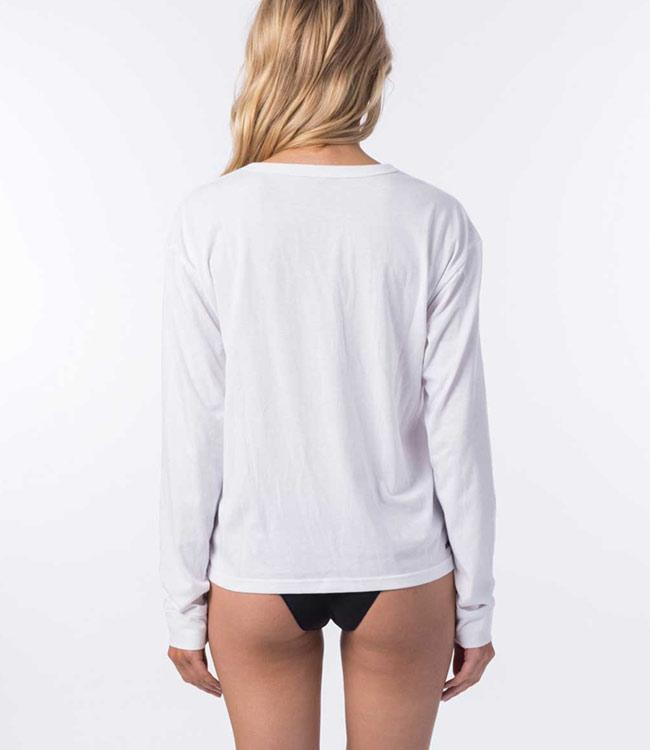 Ripcurl Searchers Womens Long Sleeve UV Tee (2020) - White