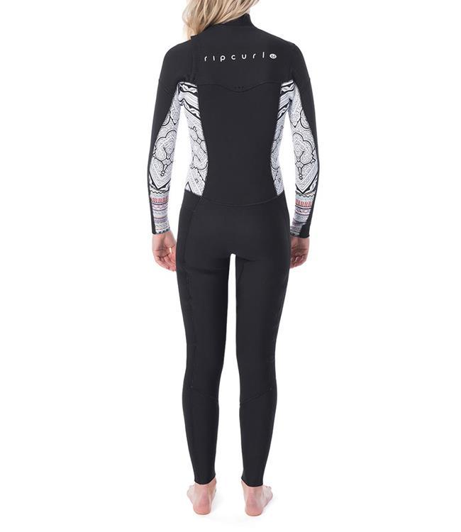 Ripcurl Dawn Patrol Womens 3/2mm Chest Zip Steamer (2020) - Waterskiers World