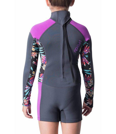 Ripcurl Girls Dawn Patrol Long Sleeve Springsuit (2019) - Purple