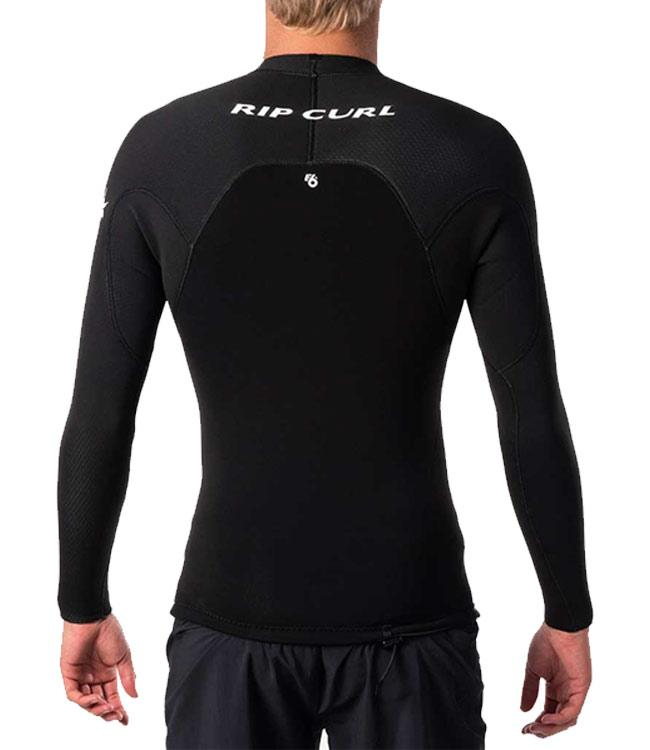 Ripcurl E-Bomb Mens 1.5mm Heater Top (2020) - Black