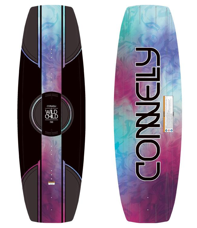 Connelly Wild Child Wakeboard Package with Ember Boots (2021) - Waterskiers World
