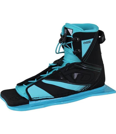 KD Aqua Womens Slalom Ski With Axcess Boot & RTP (2020) - Waterskiers World