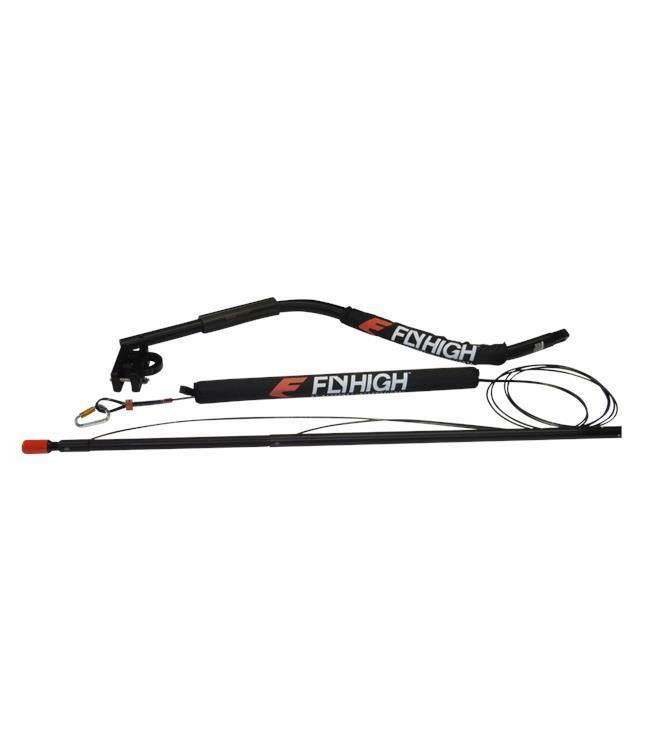 Fly High Deluxe Quad V-Drive Boom - Drivers Side