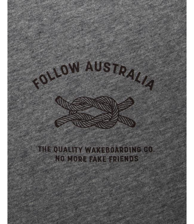 Follow Fake Friends Mens Tee (2019) - Grey