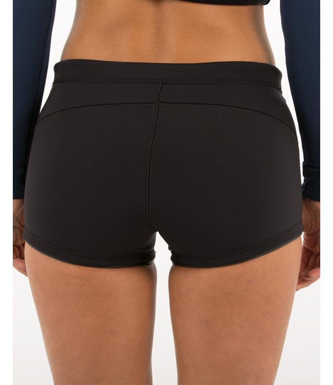 Follow 1.5m Pro Womens Wetty Shorts (2019) - Black