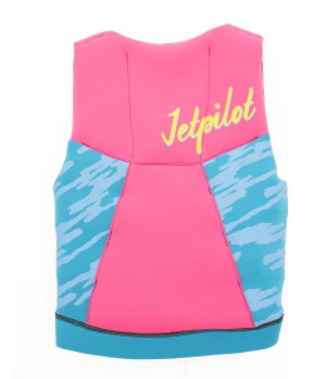 Jetpilot The Cause Girls Life Vest (2019) - Pink front
