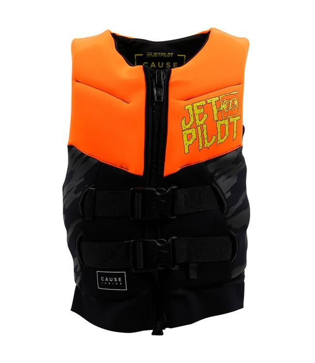 Jetpilot The Cause Boys L50 Life Vest (2019) - Orange side