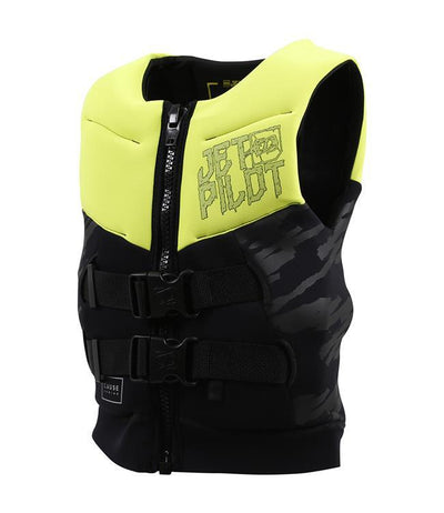 Jetpilot The Cause Boys L50 Life Vest (2019) - Yellow side