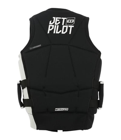 Jetpilot Matrix Pro PWC Life Vest (2019) - Black back