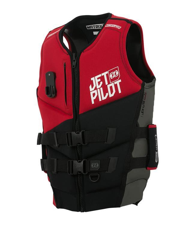 Jetpilot Matrix Pro PWC Life Vest (2021) - Red