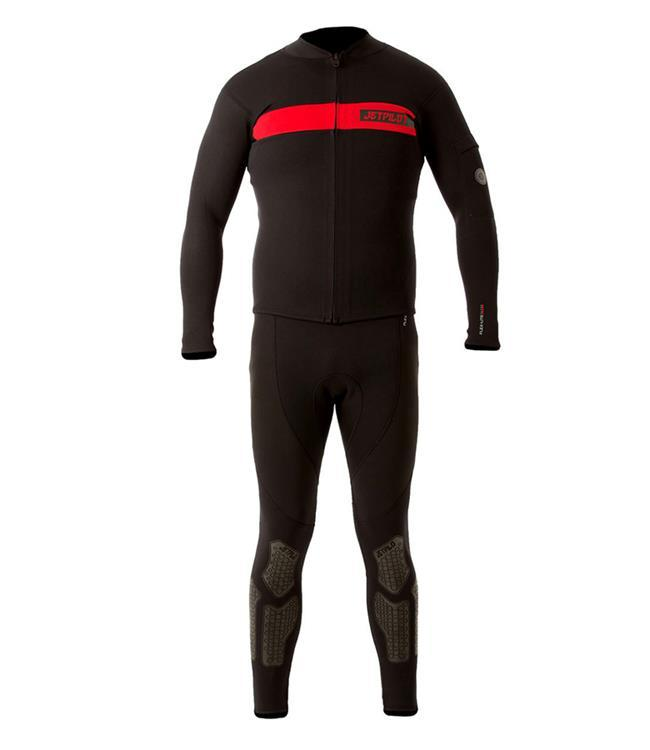 Jetpilot Venture John & Jacket Mens Wetsuit (2019) - Red side