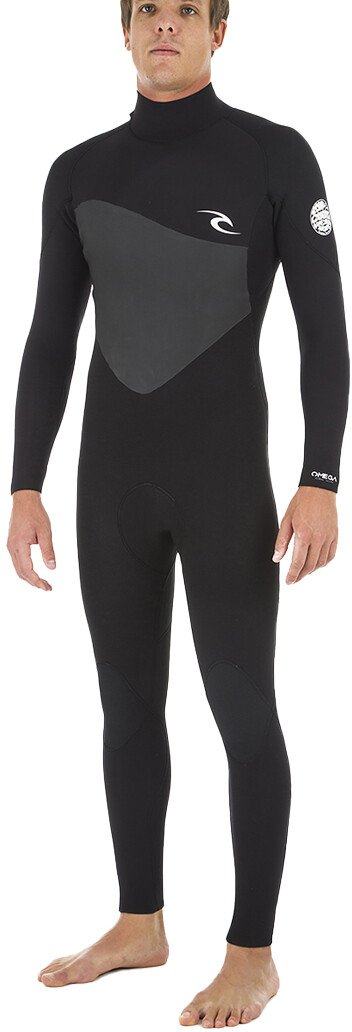 Ripcurl Omega Mens Steamer (2020) - Black - Waterskiers World