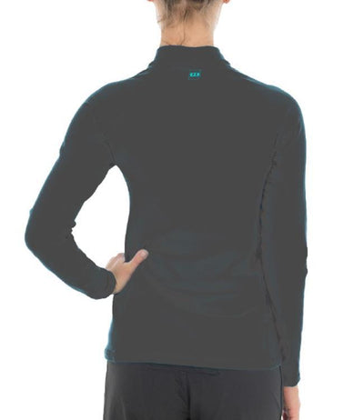 Jetpilot Allure Womens Therma Fleece (2018) - Charcoal - Waterskiers World