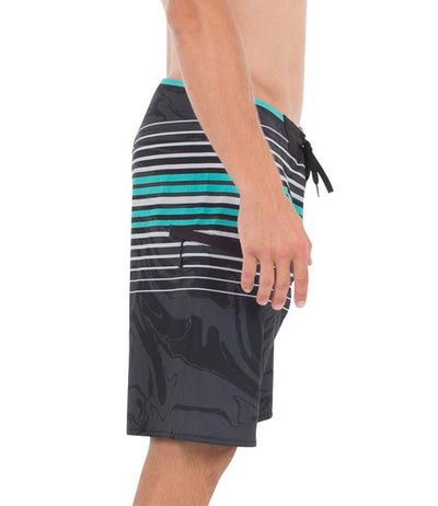 Jetpilot X1 Boardshorts (2018) - Navy/Teal - Waterskiers World